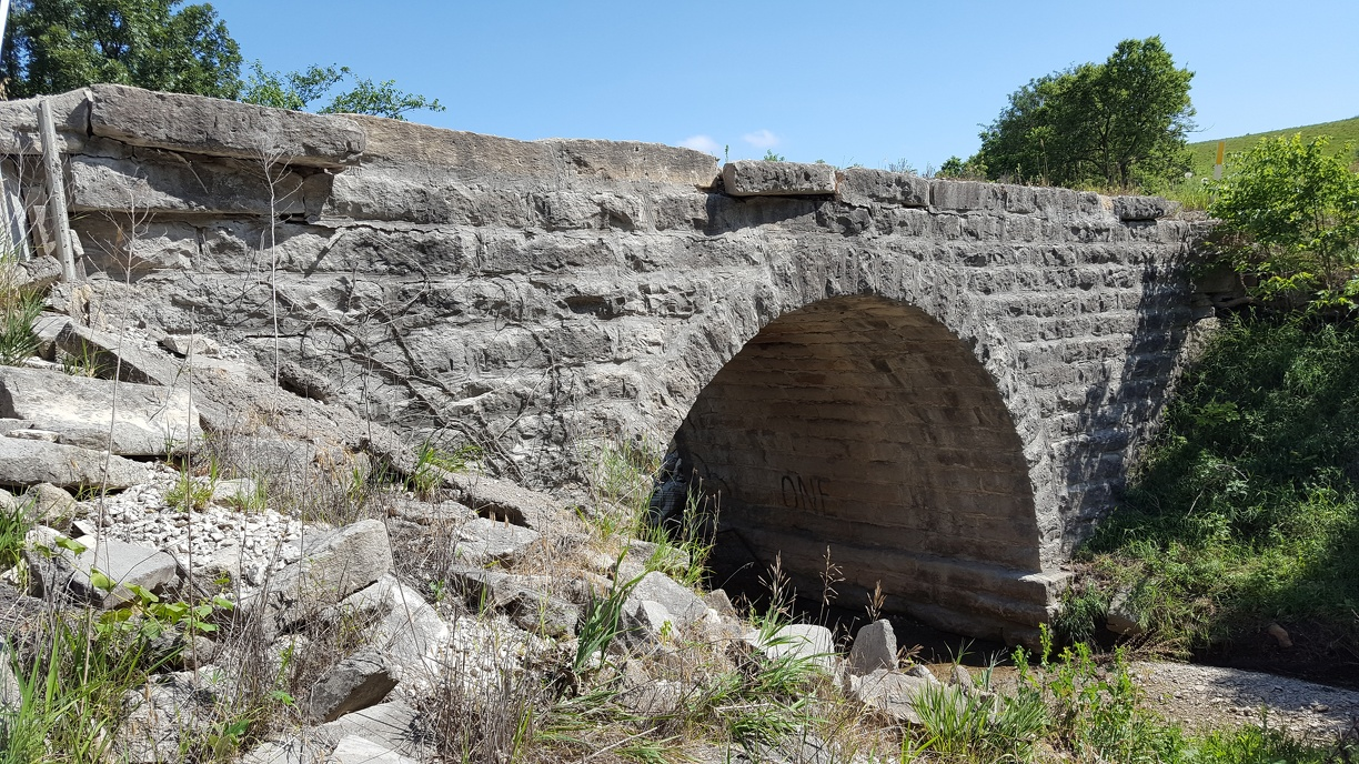 Historic Natural Stone Bridge